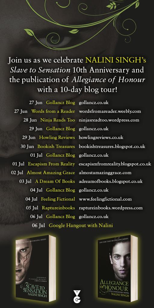 Nalini Singh Blog Tour